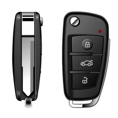 Automobilio rakto pultelis – Kamera Full HD 3