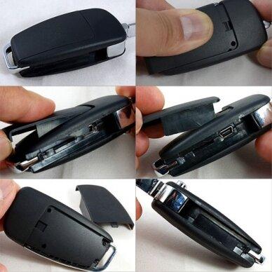 Automobilio rakto pultelis – Kamera Full HD 4