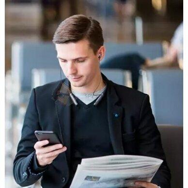 """""""Bluetooth"""" ausinės- Mobiliųjų telefonų pokalbių įrašytuvas+Diktofonas 5"""