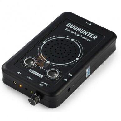 """Подавитель подслушивающих устройств и диктофонов """"BugHunter  bda-3"""" с внешней колонкой 2"""