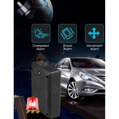 GPS SEKLYS MTK MINI SU GALINGAIS MAGNETAIS 6