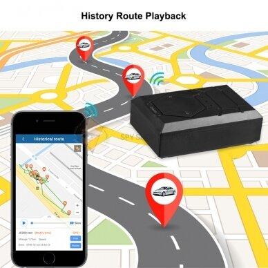 GPS SEKLYS MTK MINI SU GALINGAIS MAGNETAIS 5