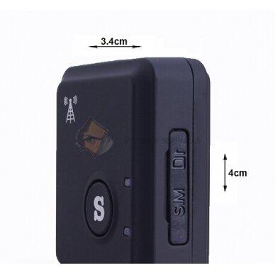 GSM pasiklausymo įrenginys su 18 funkcijų 2