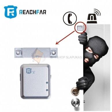 GSM pasiklausymo įrenginys su magnetu (Durų signalizacija) 4