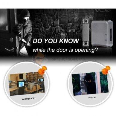 GSM pasiklausymo įrenginys su magnetu (Durų signalizacija) 5