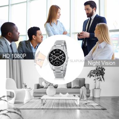 Laikrodis kamera FULL HD 32 GB su naktinio filmavimo funkcija 4