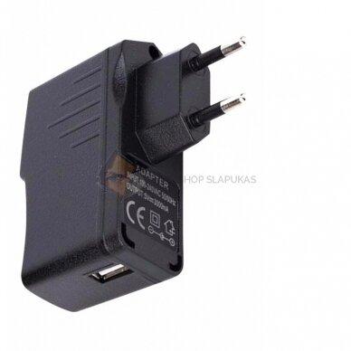 LONG POWER GSM pasiklausymo įrenginys mobilaus telefono pakrovėjas 2