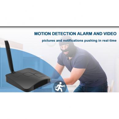 Maršrutizatoriaus imitacija su Wifi kamera 8