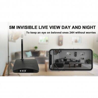 Maršrutizatoriaus imitacija su Wifi kamera 6