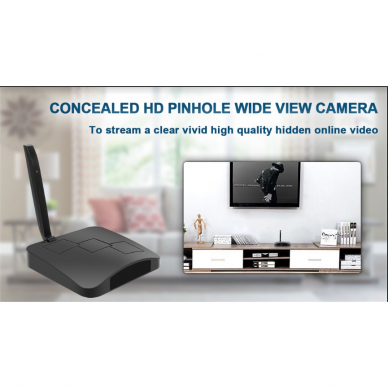 Maršrutizatoriaus imitacija su Wifi kamera 9