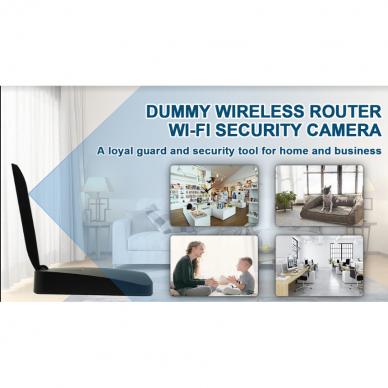 Maršrutizatoriaus imitacija su Wifi kamera 7