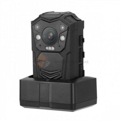 Nešiojamas vaizdo registratorius- Body worn kamera