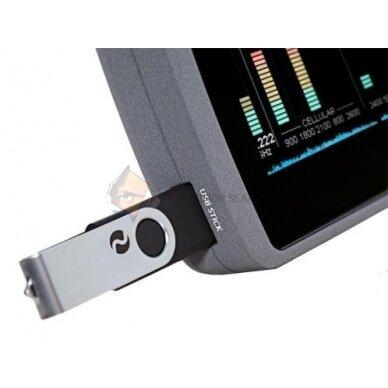 Plačiajuostis belaidis radijo signalų detektorius 4