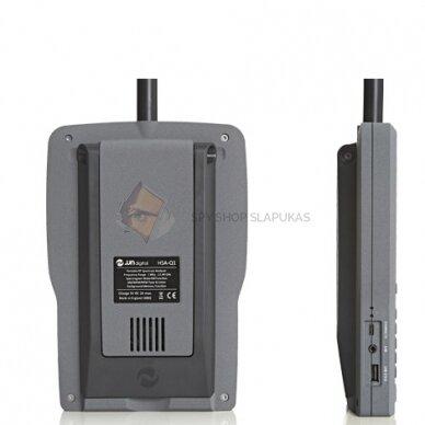 Rankinis spektro analizatorius mobiliųjų telefonų, pasiklausymo įrangos ir vaizdo kamerų aptikimui 2