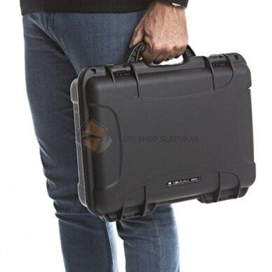 Rankinis spektro analizatorius mobiliųjų telefonų, pasiklausymo įrangos ir vaizdo kamerų aptikimui 6