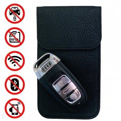 Ryšius blokuojantis dėklas Auto KEY Premium