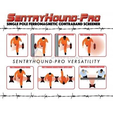 SentryHound-Pro feromagnetinis kontrabandos skenavimo įrenginys PROFESIONALAMS 5