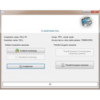 Slepens 16 GB USB datu nesējs slepenai Windows datora novērošanai 3