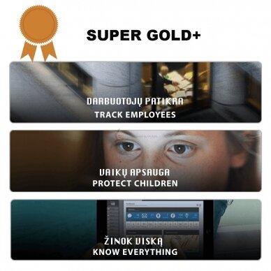 "Slapto mobiliųjų telefonų stebėjimo įranga ""SUPER GOLD+"""