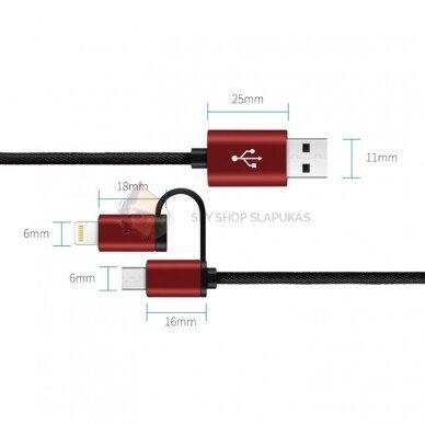 USB krovimo laidas su GSM pasiklausymo įrenginiu 2