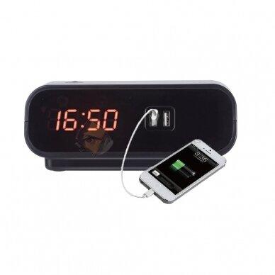 Часы с камерой наблюдения WIFI Smart