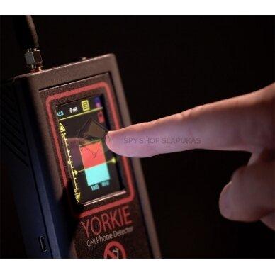 Yorkie mobiliųjų telefonų kontrabandos detektorius PROFESIONALAMS 2