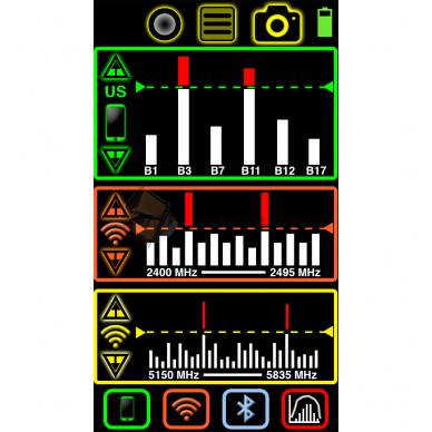 """Yorkie-Pro Detektorius -belaidė įsilaužimo aptikimo sistema """"WIDS"""" PROFESIONALAMS 2"""